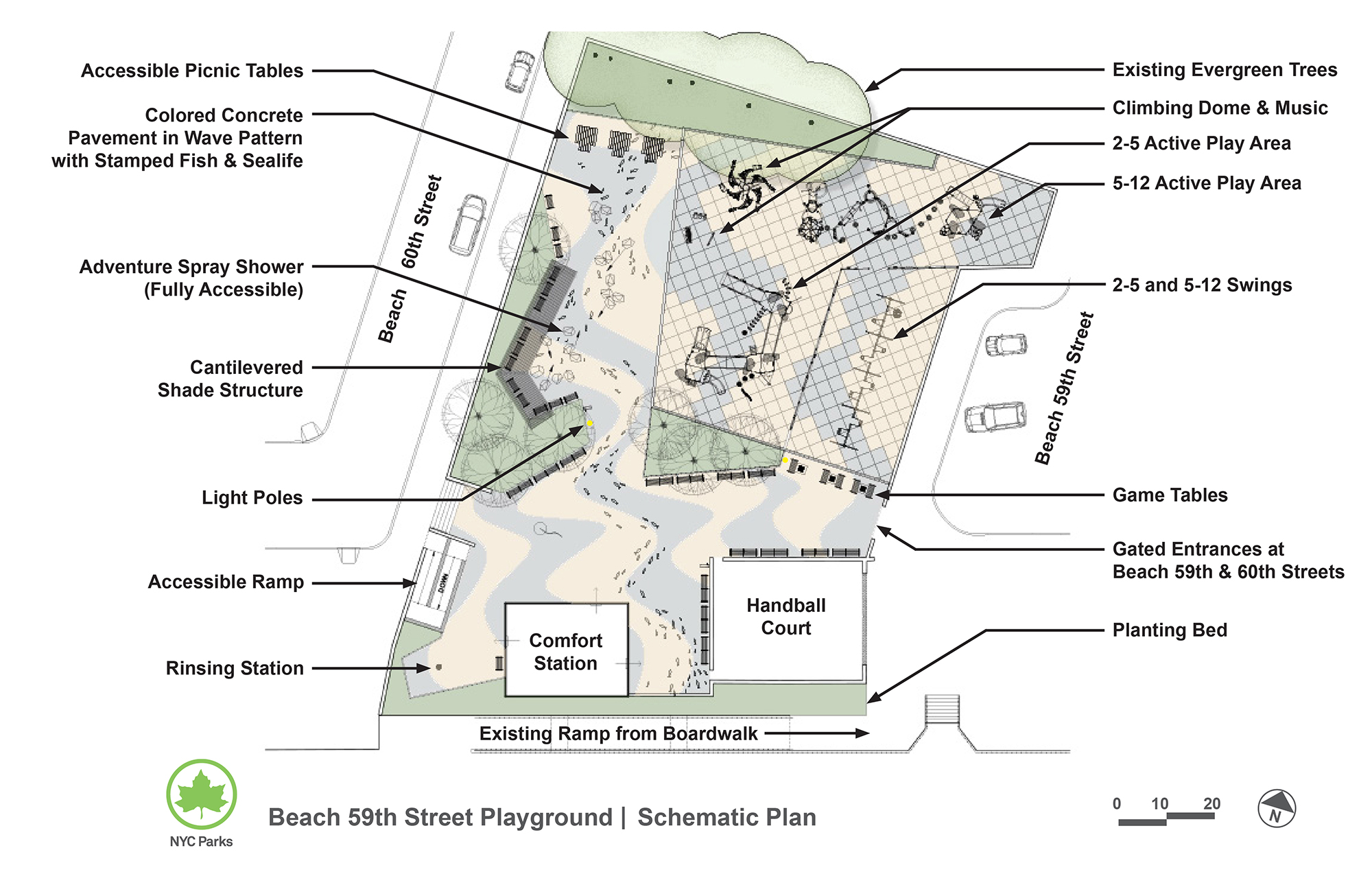 Design of Beach 59th Street Playground Reconstruction