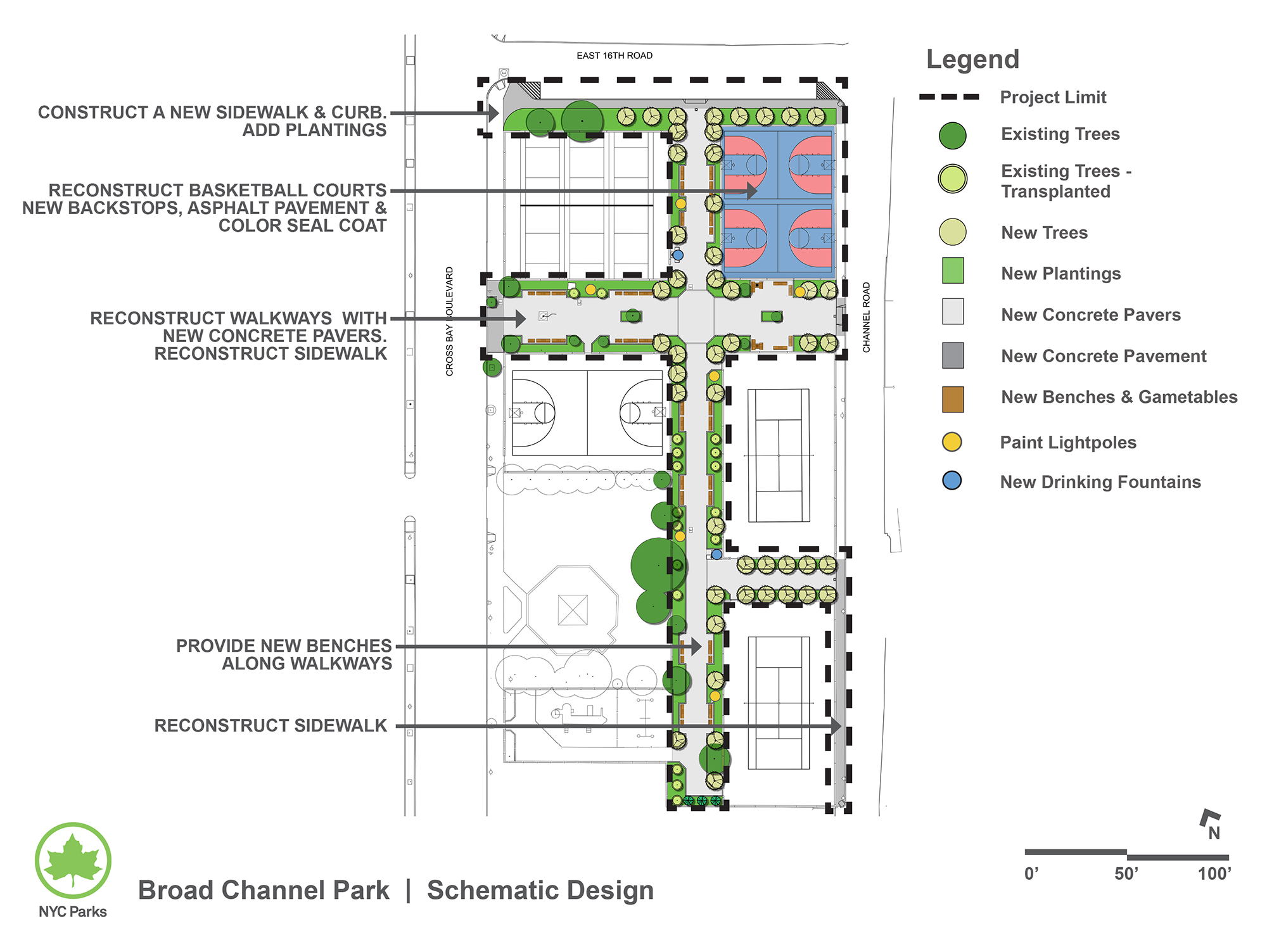 Design of Broad Channel Park Reconstruction