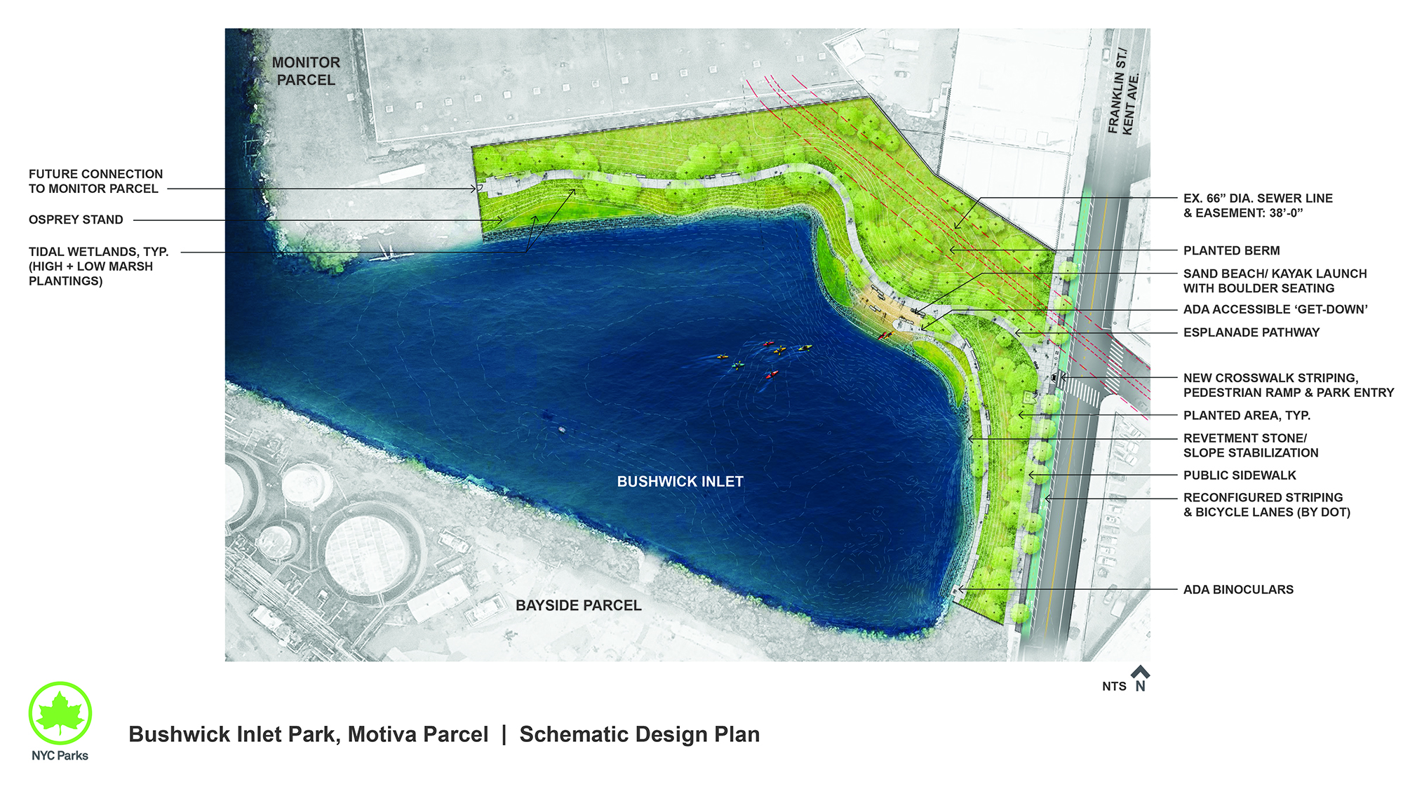 Design of Bushwick Inlet Park Motiva Parcel Remediation and Passive Seating Area Construction
