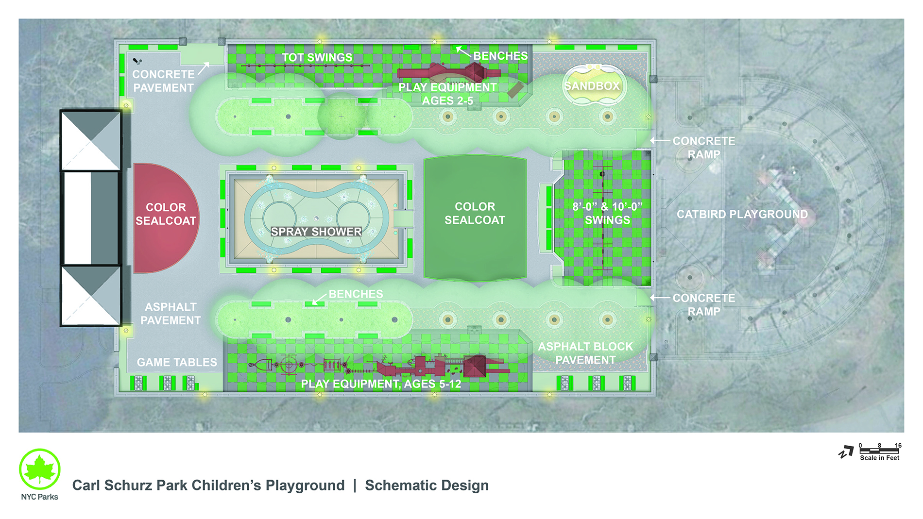 Design of Carl Schurz Park Playground Reconstruction