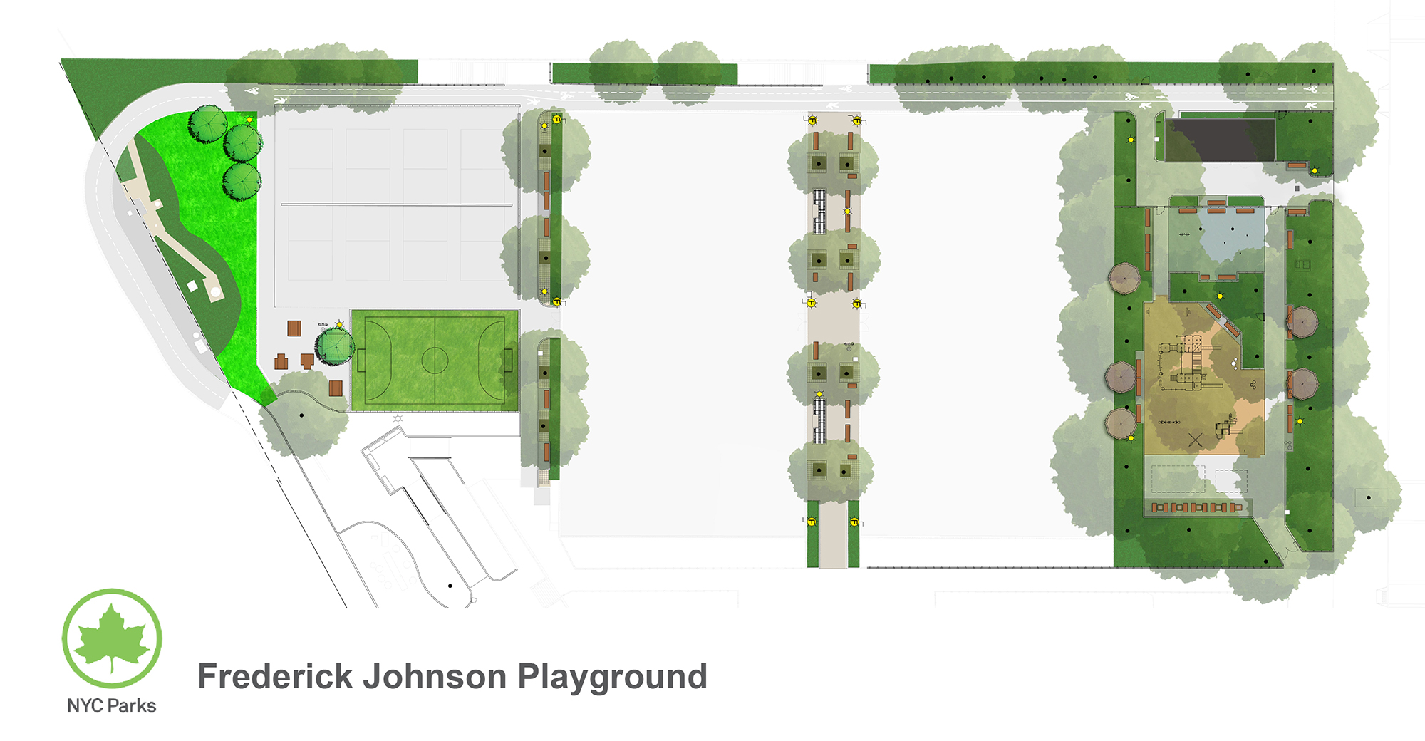 Design of Frederick Johnson Playground Reconstruction