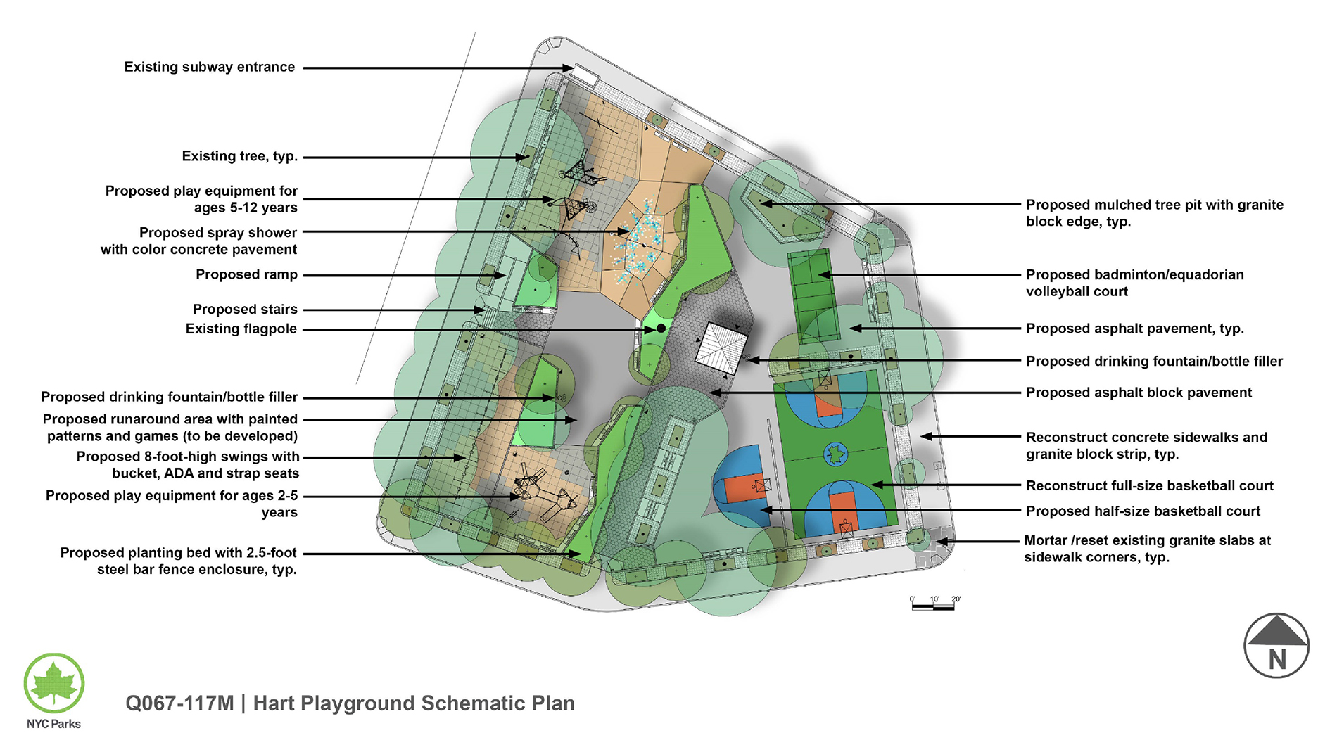 Design of General Hart Playground Reconstruction