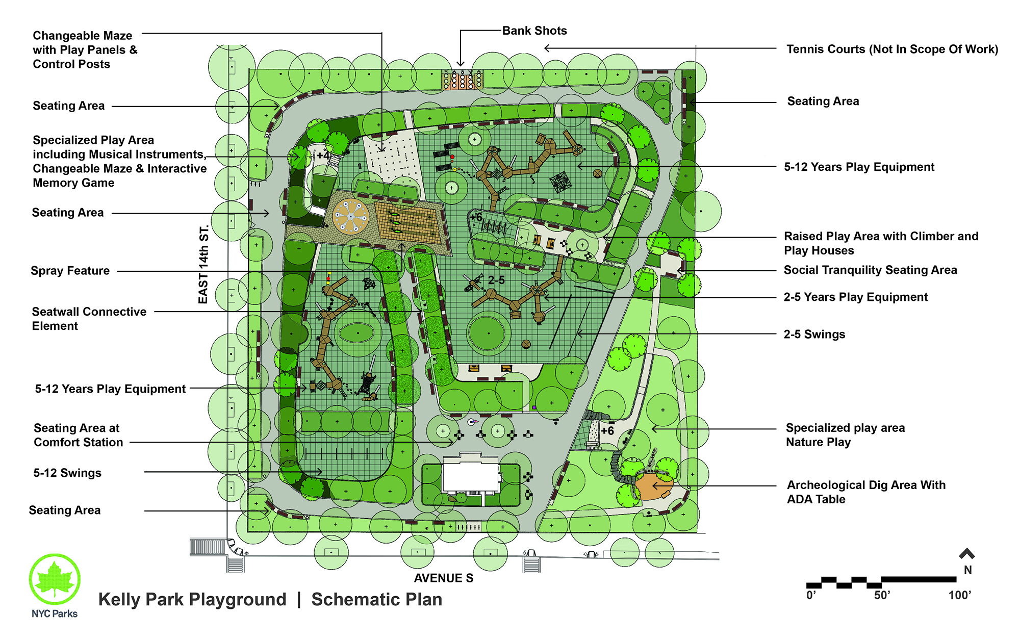 Design of Kelly Park Playground Reconstruction