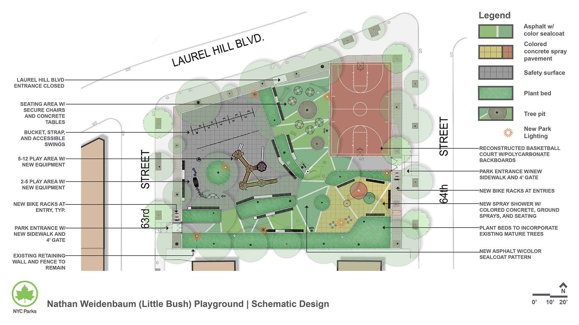 Design of Little Bush Park Playground Reconstruction