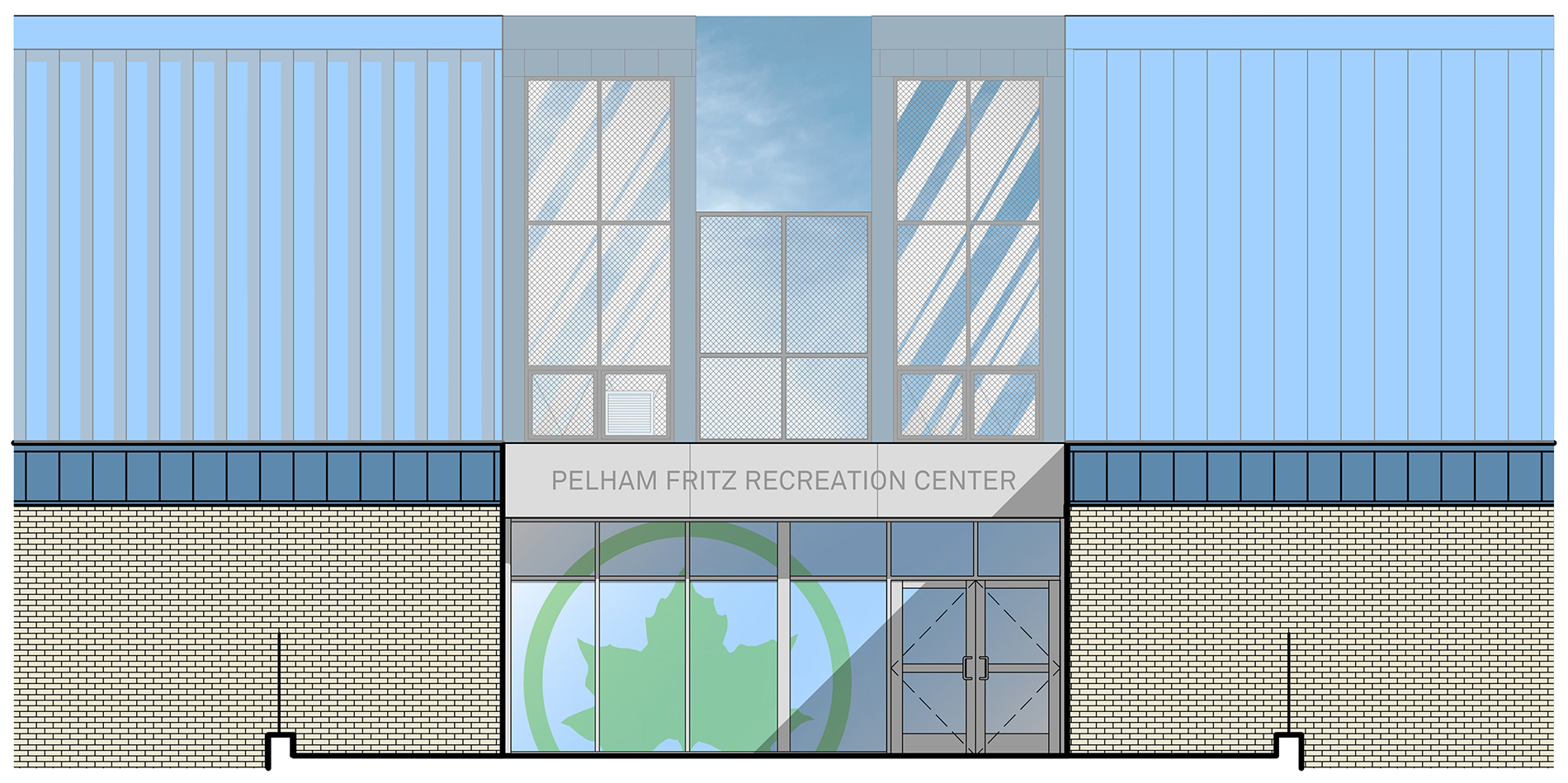 Design of Marcus Garvey Park Pelham Fritz Recreation Center Reconstruction