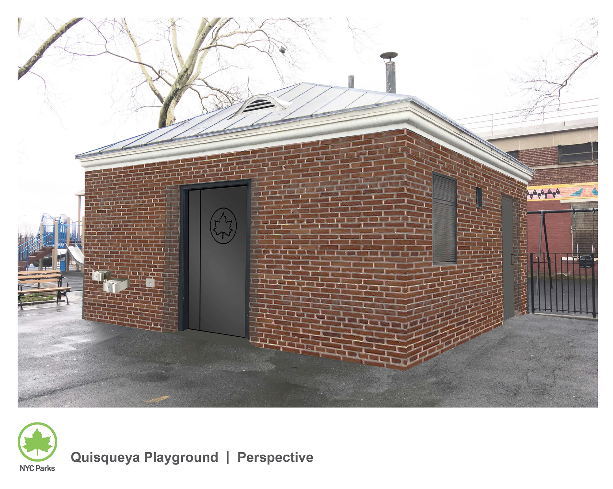 Design of Quisqueya Playground Comfort Station Reconstruction