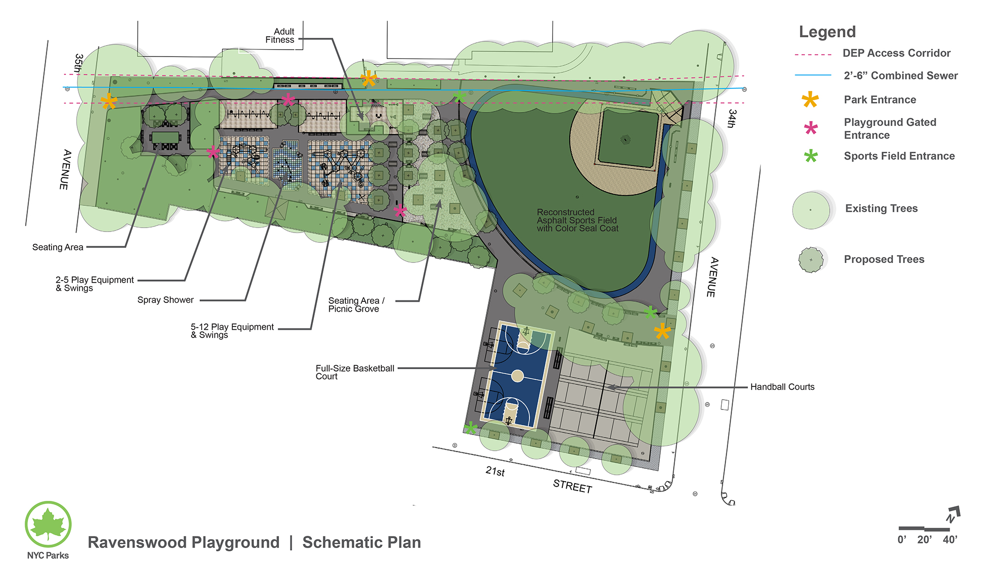 Design of Ravenswood Playground Reconstruction
