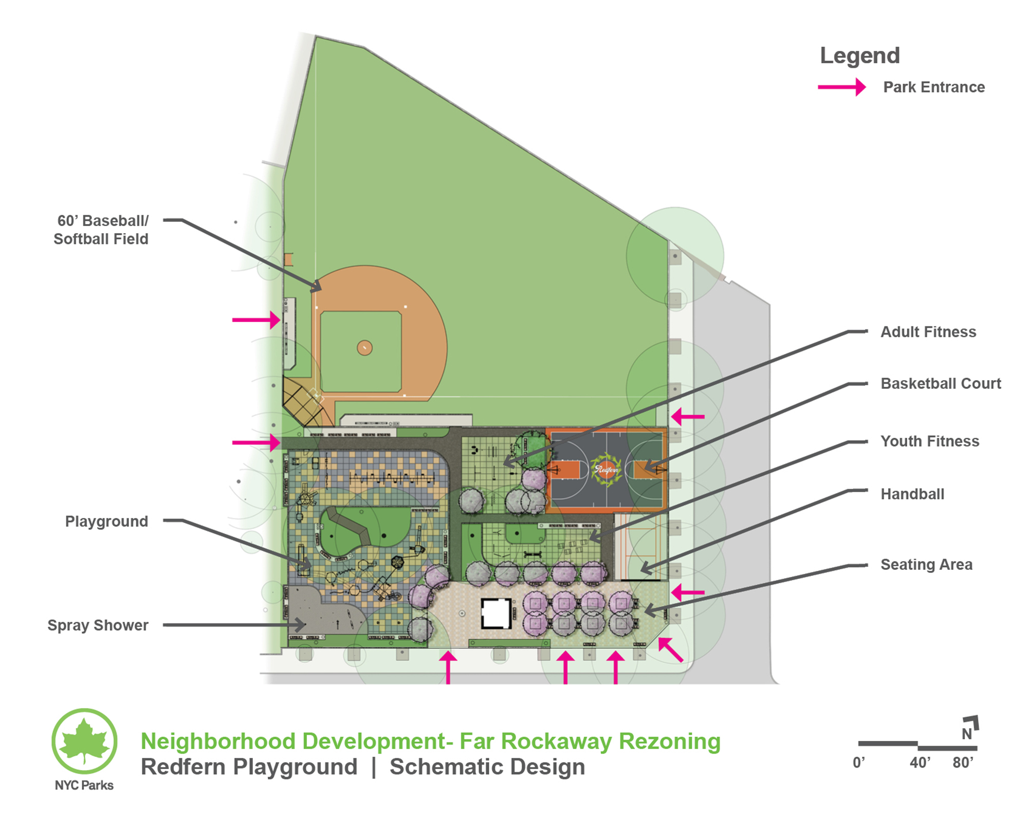Design of Redfern Playground Reconstruction