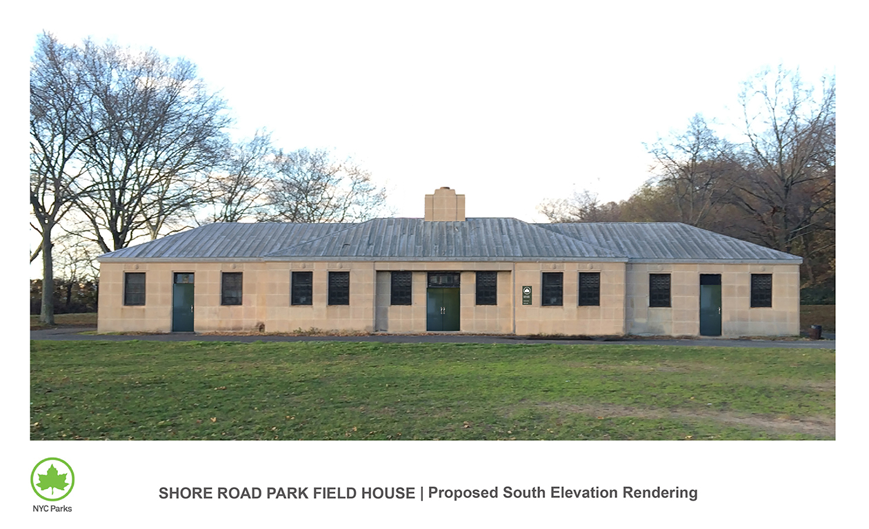 Design of Shore Park and Parkway Field House Reconstruction