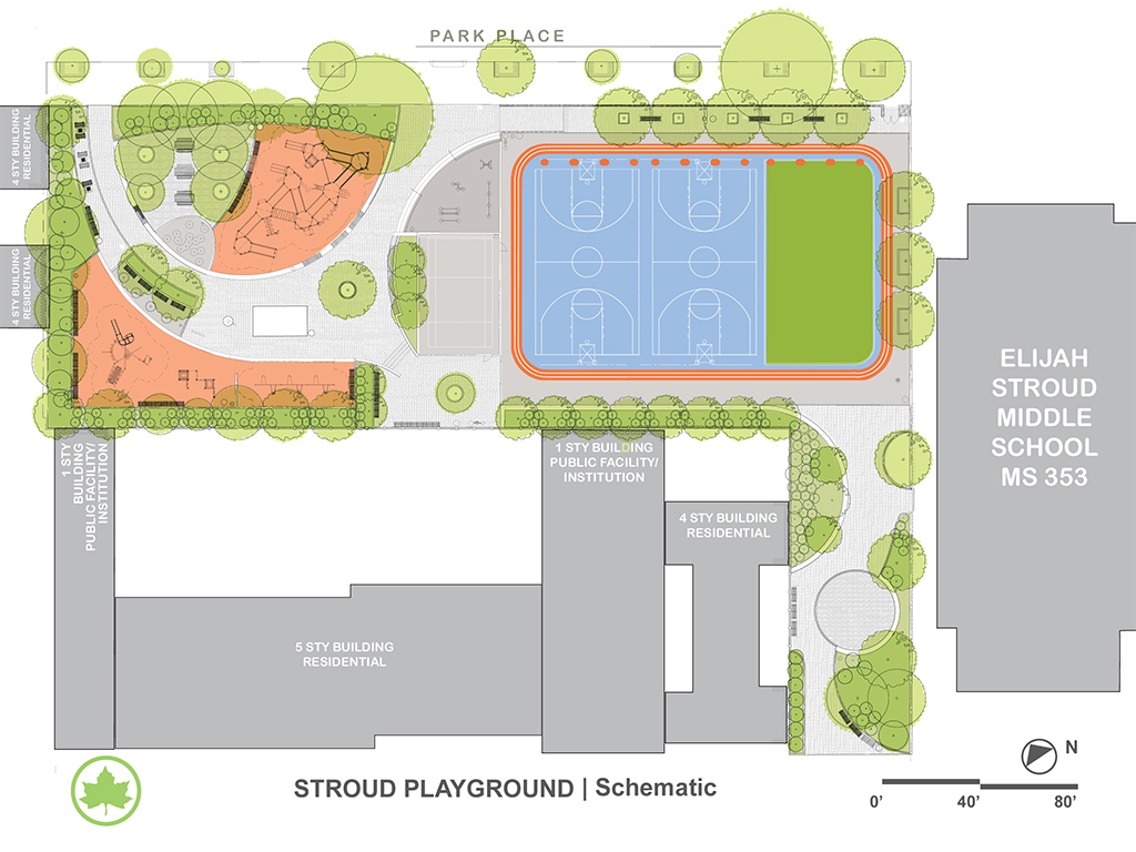 Design of Stroud Playground Reconstruction