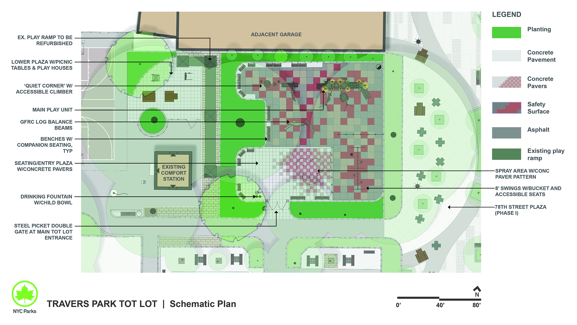 Design of Travers Park Tot Lot Reconstruction