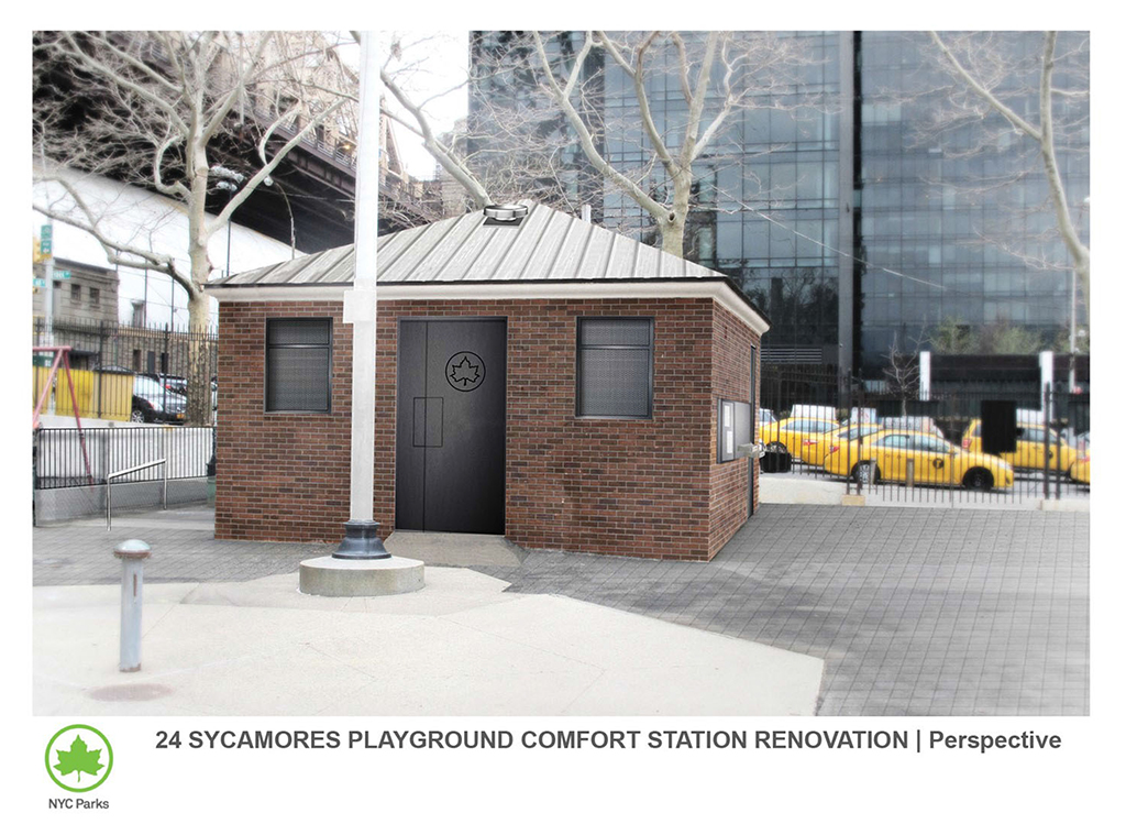 Design of Twenty-Four Sycamores Park Comfort Station Reconstruction