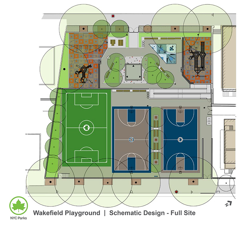 Design of Wakefield Playground Reconstruction