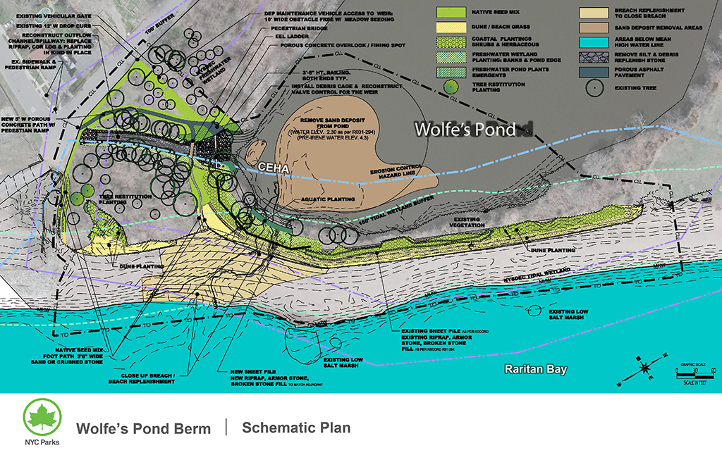 Design of Wolfe's Pond Park Landscape Reconstruction