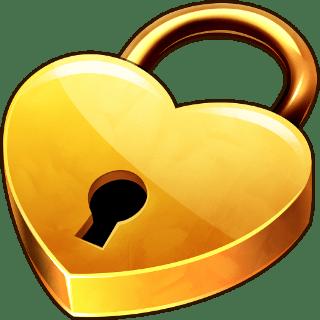 Heart Padlock