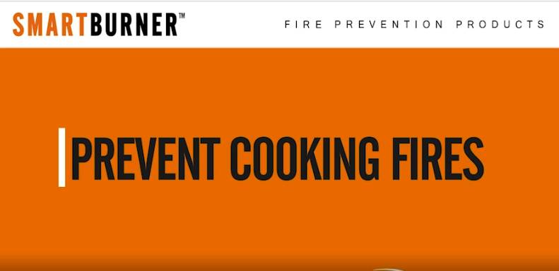 Fire Prevention Cooking Products - SmartBurner™ - Prevent Cooking Fires