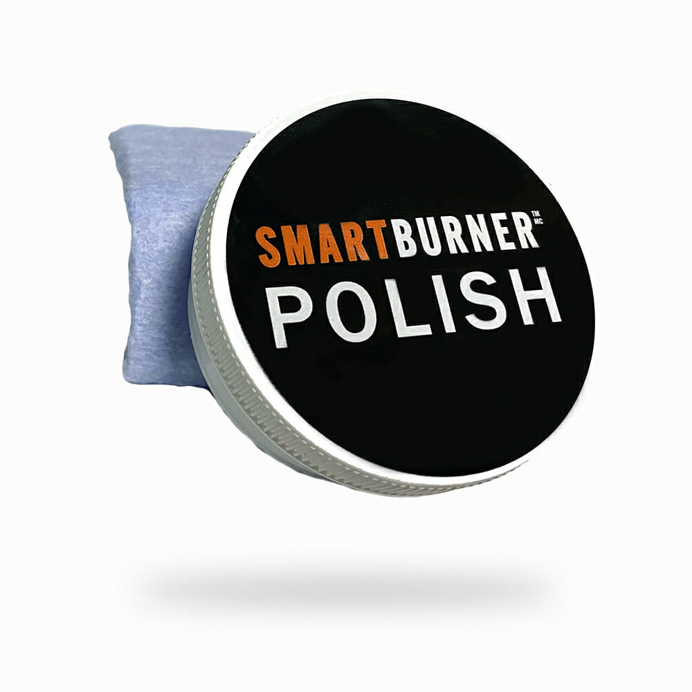 SmartBurner™ Polish for cleaning and restoring SmartBurner™