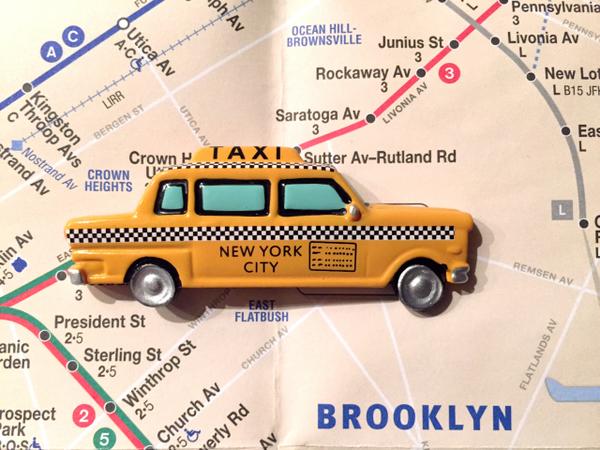 NYC Taxi magneet