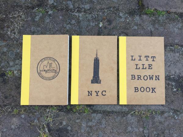 Set van 3 notitieboekjes