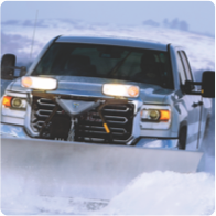 book a residential driveway snow plowing service one-time or for the entire season