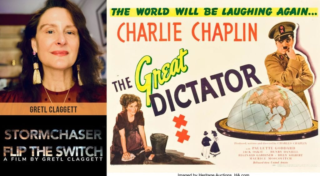 The Great Dictator with Gretl Claggett