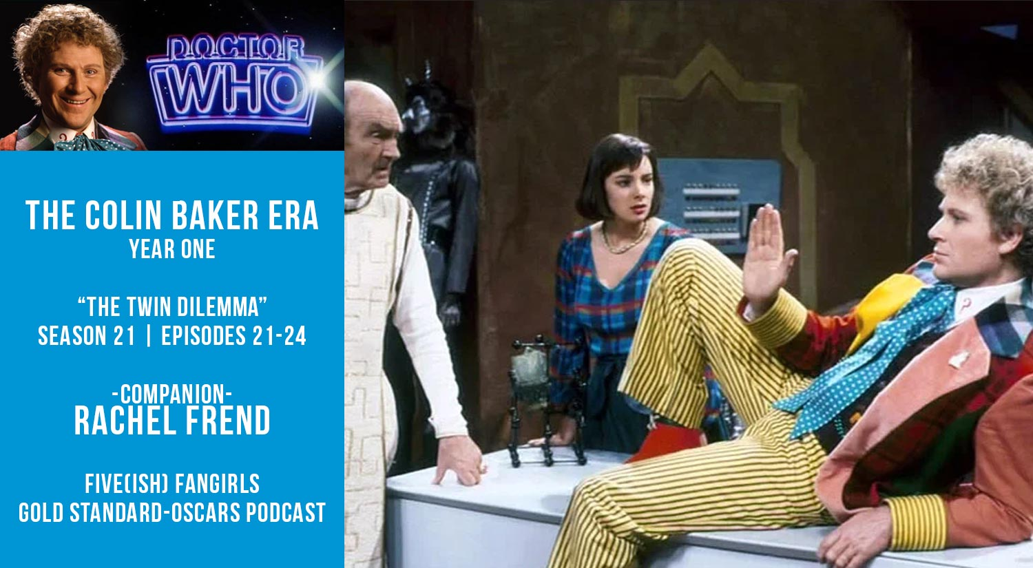 Old Space Show: Doctor Who: The Twin Dilemma