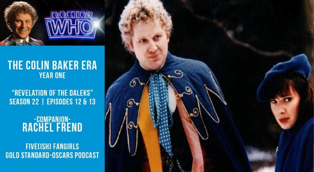 Old Space Show: Dr Who: Revelation of the Daleks