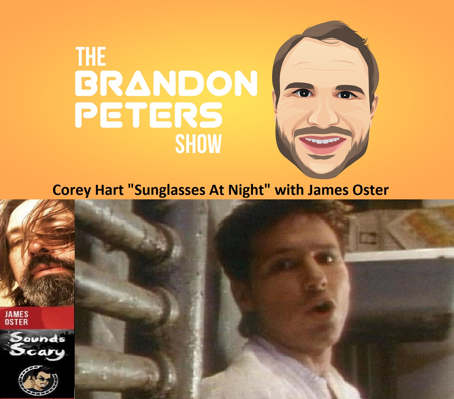 """Closing With A Song """"Sunglasses at Night'"""" by Corey Hart with James Oster"""