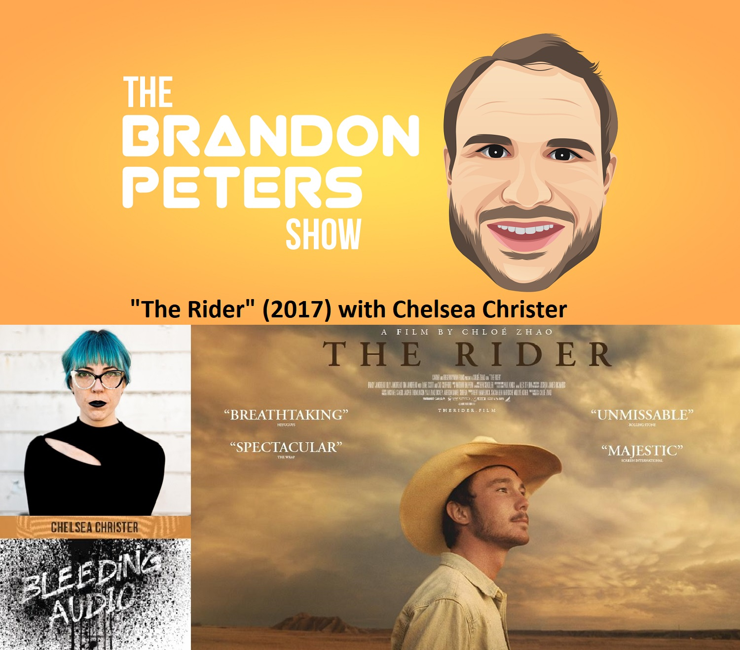 The Rider (2017) with Chelsea Christer