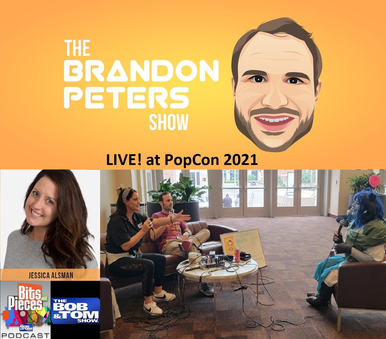 LIVE! at PopCon 2021 with Jessica Alsman