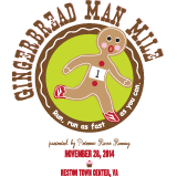 2014 Gingerbread Man Mile (Run for Kids!)