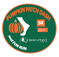 Register for 2018 Crown Point Pumpkin Patch Dash 5K Run/Walk & 1-Mile Kids Run