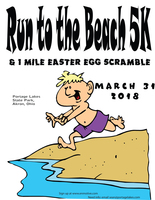 2018 Run to the Beach 5K Run/Walk & 1-Mile Easter Egg Scramble