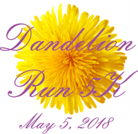 2018 Dandelion 5k Run/Walk