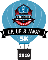 Register for 2019 Pro Football Hall of Fame Enshrinement Festival UP, UP, & AWAY 5K