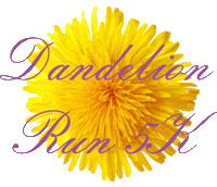 Register for 2019 Dandelion 5k Run/Walk