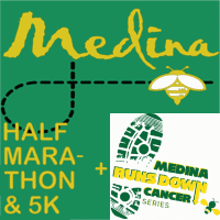 Register for 2019 Medina Half Marathon & 5K / Medina Runs Down Cancer Series