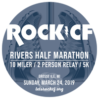 Register for 9th Annual Rock CF Rivers Half Marathon, Relay & 5k
