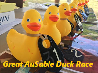 Register for 31st Annual Great AuSable Duck Race