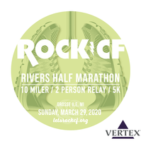 Register for 10th ANNUAL ROCK CF RIVERS RACE