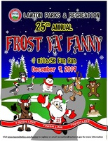 Register for 2019 25th Annual Frost Ya Fanny 1M and 5K Run