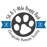 Register for 2020 Chesapeake Humane Society 5K & 1 Mile Doggy Dash