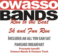 Register for Owasso Bands Run to the Beat