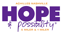 Register for U-Haul Presents Achilles Nashville 8th Annual Hope & Possibility® Virtual Race 2021