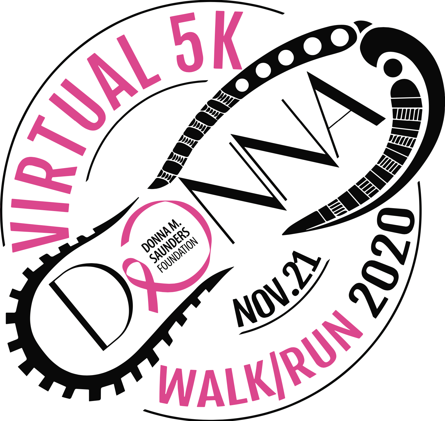 Register for the 2020 Donna's Virtual 5K Run/Walk