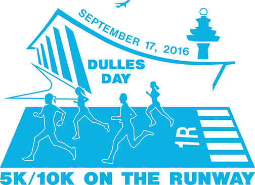 Register for the 2016 Dulles Day 5k/10k On the Runway