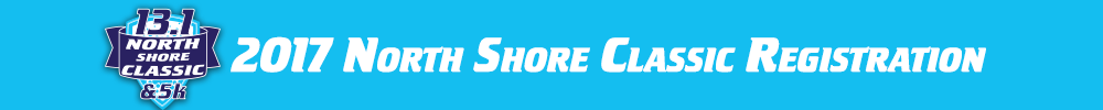 Register for the 2017 North Shore Half Marathon