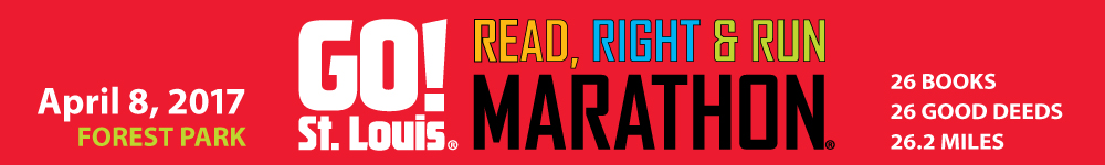 Register for the 2017 GO! St. Louis Read, Right & Run Marathon