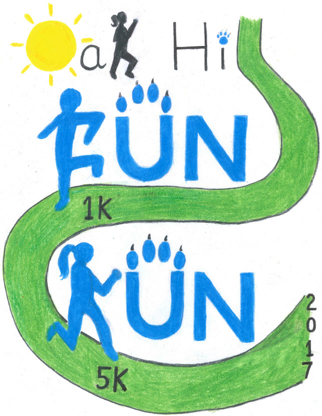 Register for the 2017 Oak Hill 5k and 1k Fun Run