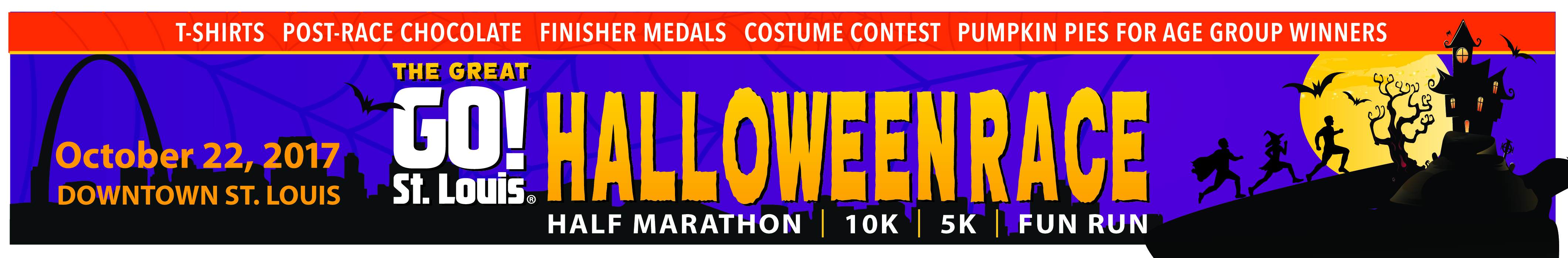 Register for the 2017 Great GO! St. Louis Halloween Race
